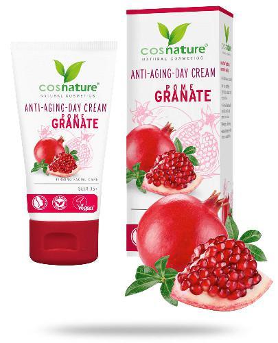 Granat Apfel naturalny krem odżywczy na dzień z owocem granatu 50 ml CosNature