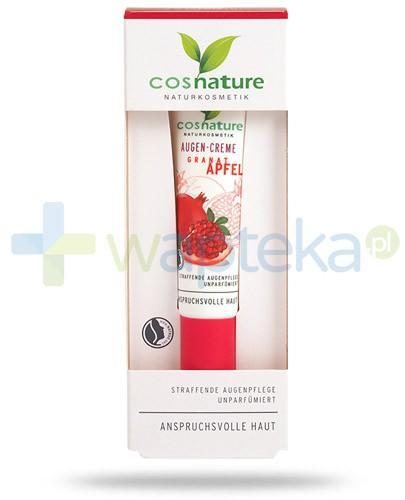 Granat Apfel naturalny krem ujędrniający pod oczy z owocem granatu 15 ml CosNature