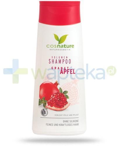 Granat Apfel naturalny szampon zwiększający objętość włosów z owocem granatu 200 ml CosNature
