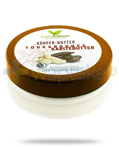Naturalne odżywcze masło do ciała z masłem shea i tonką 200 ml CosNature