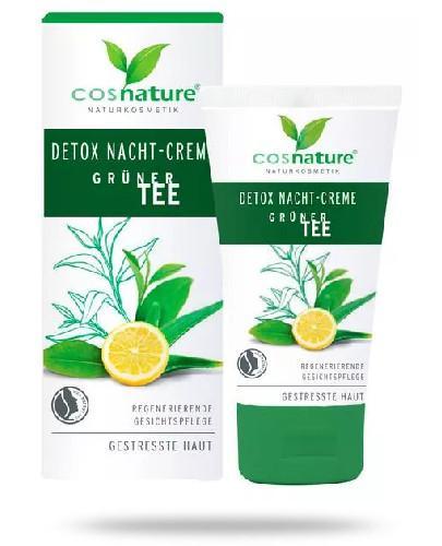 Cosnature Naturalny krem detox na noc z zieloną herbatą 50 ml