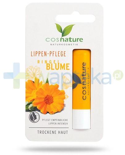 Ringel Blume naturalny balsam ochronny do ust z nagietkiem 4,8 g CosNature