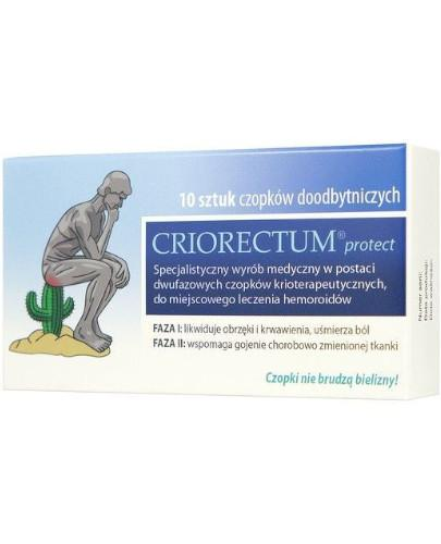 Criorectum Protect czopki doodbytnicze 10 sztuk