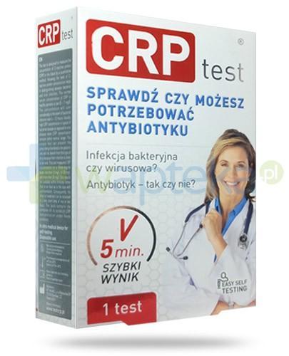 CRP test do odróżnienia zakażeń bakteryjnych i wirusowych 1 sztuka