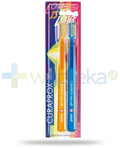 Curaprox CS 5460 Ultra soft Rainbow Edition szczoteczki do zębów 2 sztuki