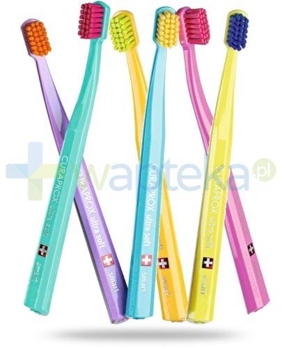 Curaprox CS Smart Ultra Soft szczoteczka do zębów dla dzieci i dorosłych 1 sztuka