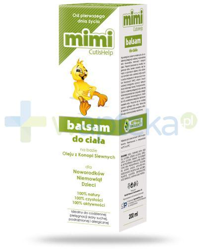 CutisHelp Mimi balsam do ciała na bazie oleju z konopi siewnych 200 ml