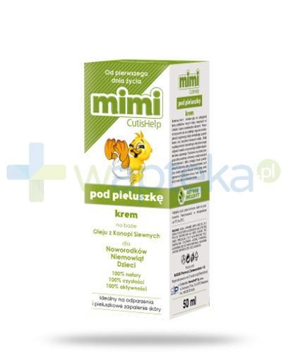 CutisHelp Mimi pod pieluszkę krem na odparzenia 50 ml - Data ważności 18-02-2017