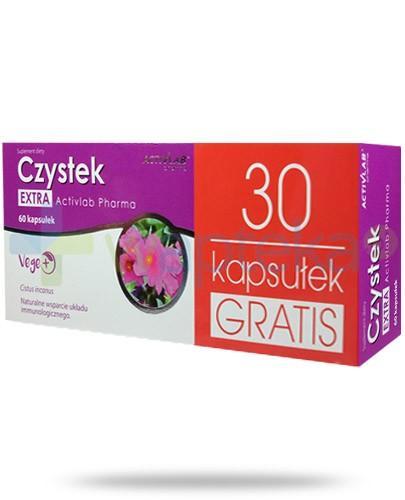 Czystek Extra Activlab Pharma wsparcie układu immunologicznego 60 kapsułek