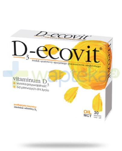 D3-Ecovit 2000j.m. 60 kapsułek