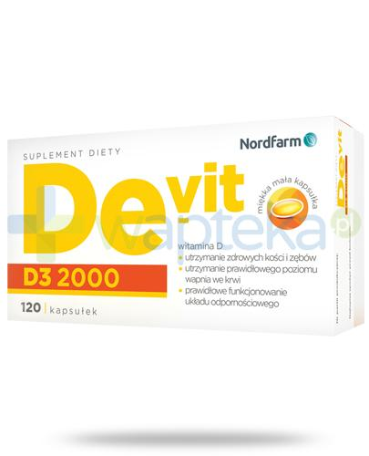 De-Vit D3 2000 120 kapsułek