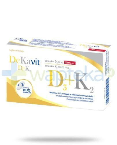 DeKavit D3+K2 30 kapsułek