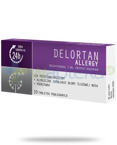Delortan Allergy 5mg 10 tabletek
