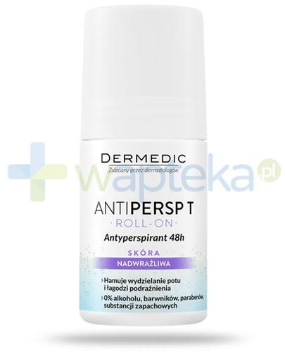 Dermedic Antipersp T antyperspirant 48h roll-on skóra nadwrażliwa 60 g