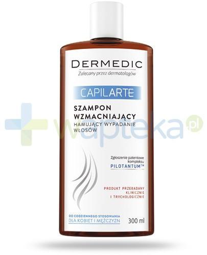 Dermedic CapilArte szampon wzmacniający hamujący wypadanie włosów 300 ml