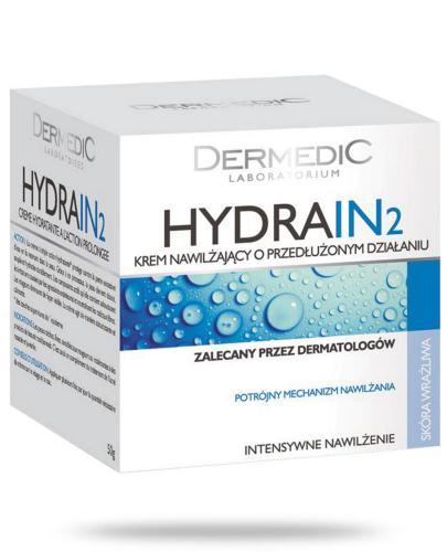 Dermedic Hydrain 2 krem intensywnie nawilżający o przedłużonym działaniu 50 ml