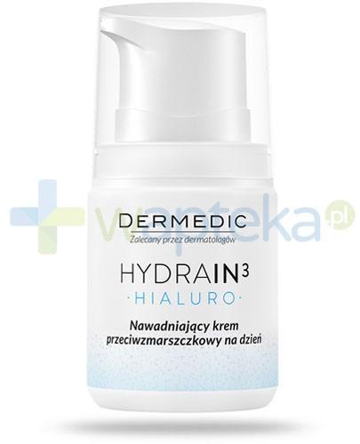 Dermedic Hydrain 3 Hialuro nawadniający krem przeciwzmarszczkowy na dzień 55 g