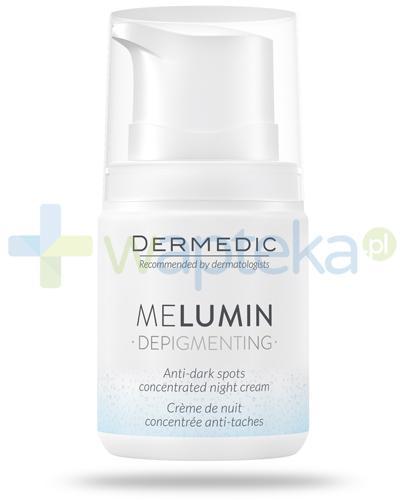 Dermedic MeLumin Depigmenting krem-koncentrat przeciw przebarwieniom na noc 55 g