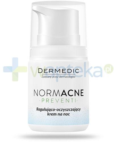 Dermedic Normacne Preventi krem regulująco oczyszczający na noc 55 g