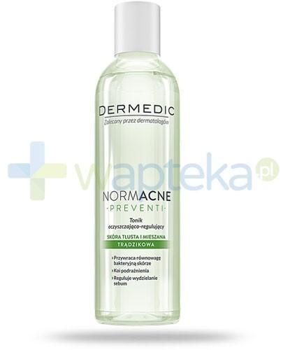 Dermedic Normacne Preventi tonik regulujący antybakteryjny do skóry trądzikowej 200 ml