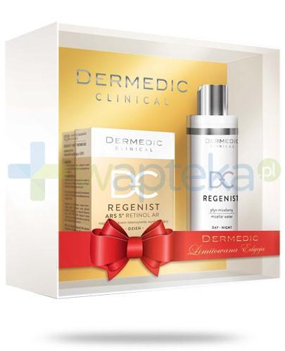Dermedic Regenist ZESTAW 5 krem naprawczy intensywnie wygładzający na dzień 50 g + płyn micelarny 200 ml + krem pod oczy GRATIS