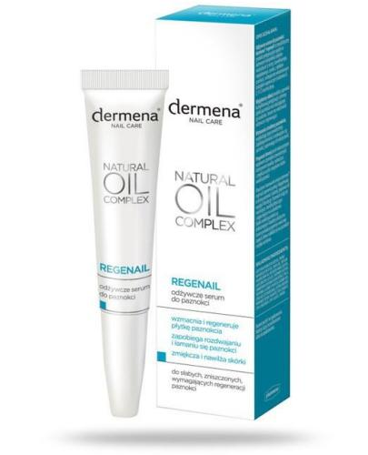 Dermena Regenail Natural Oil Complex odżywcze serum do paznokci 7 ml