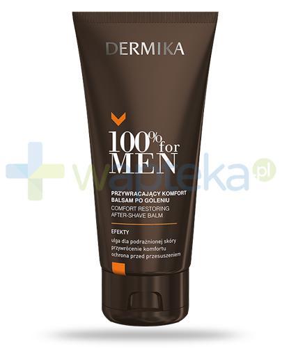 Dermika 100% For Men balsam po goleniu przywracający komfort 100 ml