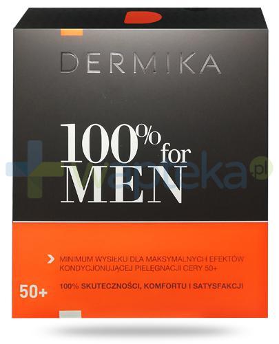 Dermika 100% For Men, zestaw dla mężczyzn 50+ [ZESTAW]