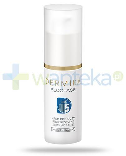 Dermika Bloq-Age krem pod oczy na dzień, na noc 15 ml