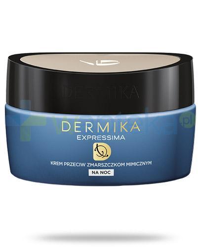 Dermika Expressima regenerujący krem przeciw zmarszczkom mimicznym na noc 50 ml