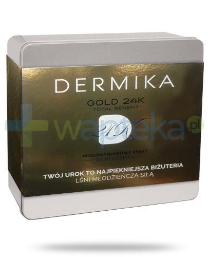 Dermika Gold 24K Total Benefit Wielowymiarowy efekt odmłodzenia [ZESTAW]