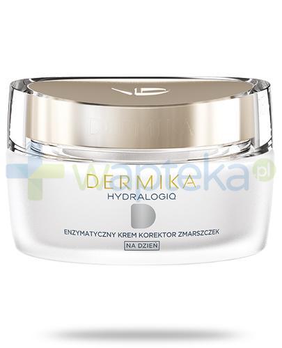 Dermika HydraLogiq 40+ enzymatyczny krem korektor zmarszczek na dzień 50 ml