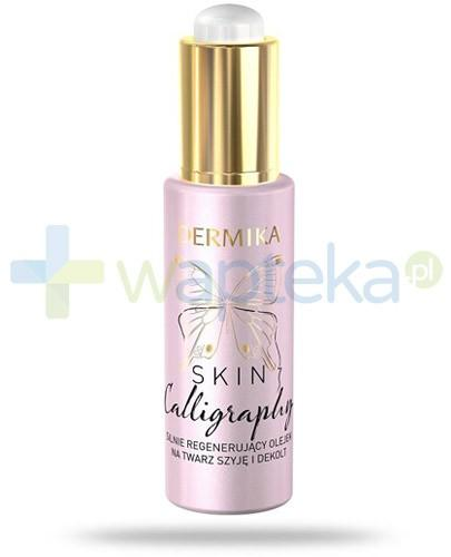 Dermika Skin Calligraphy olejek silnie regenerujący na twarz, szyję i dekolt 30 ml