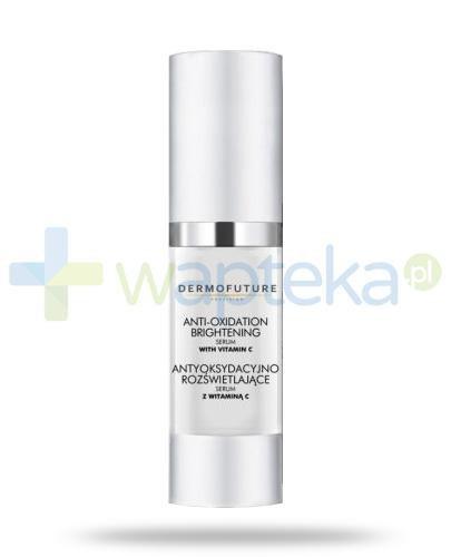 Dermo Future Anti-Oxidation serum antyoksydacyjno-rozświetlające z witaminą C, noni i arbutyną na noc 30 ml