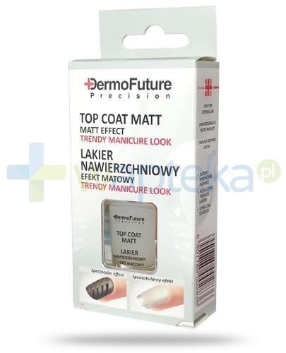 Dermo Future Top Coat Matt matowy lakier nawierzchniowy do paznokci 9 ml