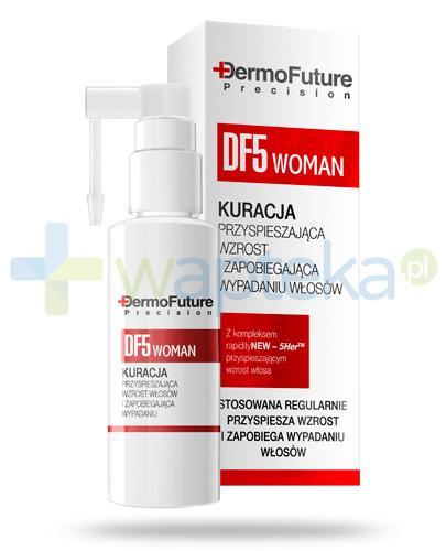 Dermo Future Woman kuracja przyspieszająca wzrost i zapobiegająca wypadaniu włosów 30 ml