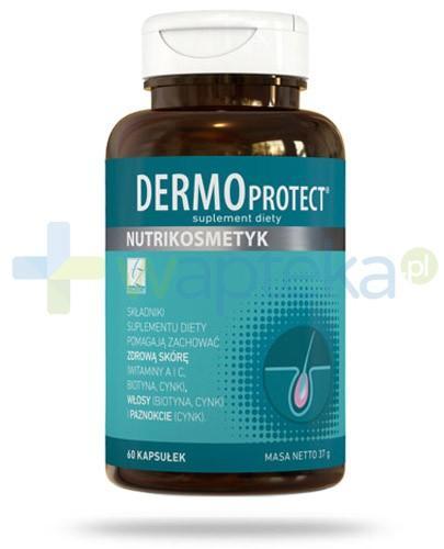 Dermo Protect na zdrową skórę, włosy i paznokcie 60 kapsułek