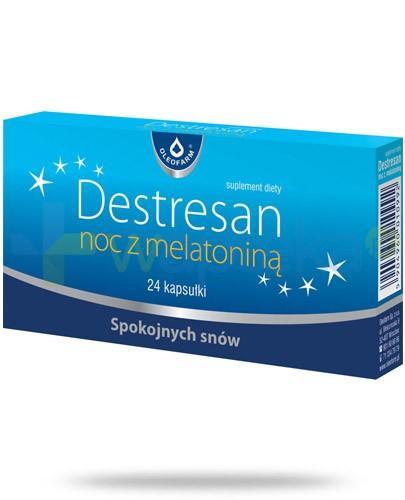 Destresan Noc z melatoniną 24 kapsułki