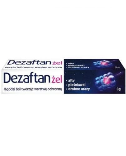 Dezaftan żel do jamy ustnej 8 g