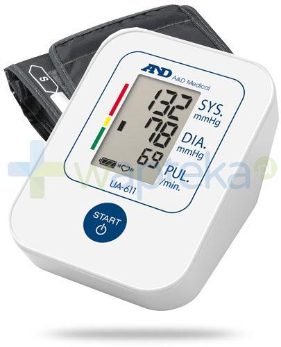 Diagnosis AND UA-611 ciśnieniomierz naramienny automatyczny 1 sztuka + Biotter Omega-3 +witamina E Forte 60 kapsułek + Biotter Anty skurcz magnez + potas 60 tabletek
