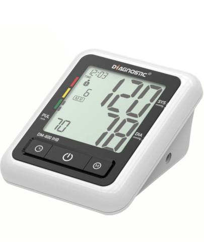Diagnostic DM-600 IHB ciśnieniomierz automatyczny naramienny z zasilaczem 1 sztuka + suplementy diety [ZESTAW]