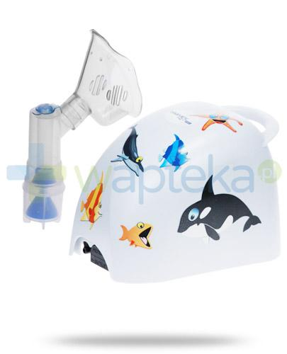 Diagnostic Kids inhalator kompresorowo tłokowy 1 sztuka + Zabłocka mgiełka solankowa jodowo-bromowa 200 ml