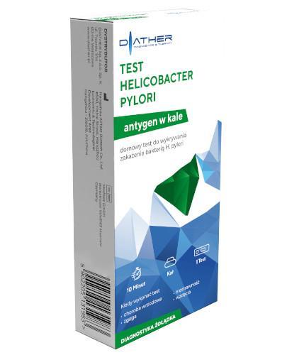 Diather Test Helicobacter pylori antygen w kale 1 sztuka