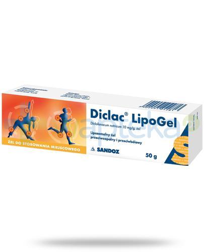 Diclac LipoGel żel 10mg/g 50 g