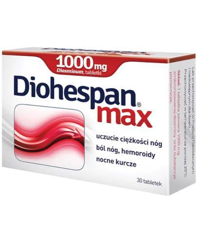 Diohespan Max 1000mg 30 tabletek