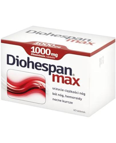 Diohespan max 1000mg 60 tabletek