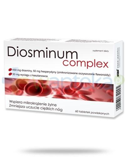 Diosminum Complex 60 tabletek - Data ważności 30-06-2017