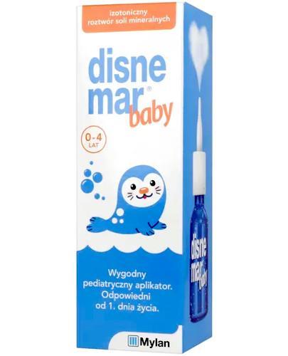 Disnemar Baby woda morska w aerozolu do nosa dla dzieci 25 ml