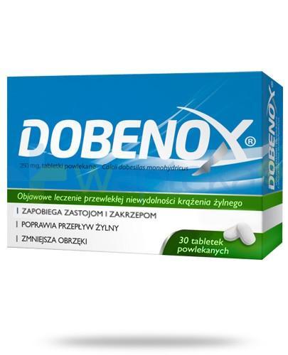 Dobenox 250mg 30 tabletek