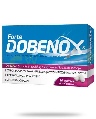 Dobenox Forte 500mg 30 tabletek